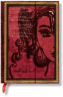 Amy Winehouse Le lacrime si asciugano. Chiusura mgnetica. Midi. Embellished Manuscripts