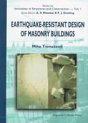 Earthquake resistant design of masonry buildings