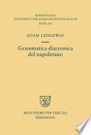 Grammatica diacronica del napoletano Book Cover