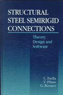 Structural steel semirigid connections
