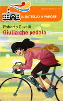 Giulia che pedala