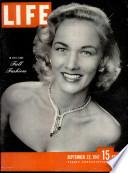 22 set 1947