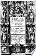 1638-Rocco Pirro-Sicilia Sacra In qua Episcopatum nunc Florentium, ac eorum diœceseon Notitiæ traduntur, Liber Tertius, vol.II (pag.115)