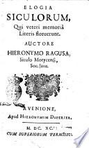 1690 - Geronimo Ragusa - Elogia Siculorum qui veteri memoria literis floruerunt. Auctore Hieronymo Ragusa, Siculo Morycensi, Soc. Jesu  (pag.81, Cosmanus) [Biblioteca Nazionale Centrale di Firenze]