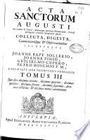 1737 - Acta Sanctorum - Copertina anteriore [Universitad Complutense de Madrid]