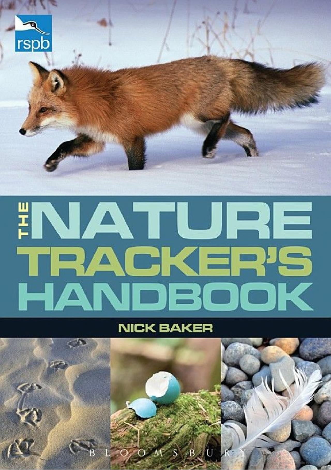 RSPB Nature Tracker's Handbook By Nick Baker (UK)