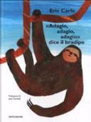 Copertina  Adagio, adagio, adagio, dice il bradipo