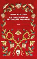 Copertina  Le confessioni di Frennie Langton