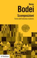 Copertina  Scomposizioni : forme dell'individuo moderno