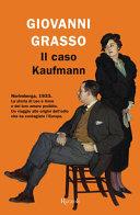 Copertina  Il caso Kaufmann
