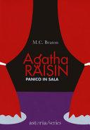 Copertina  Agatha Raisin, panico in sala