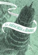 Copertina  La memoria di Babel