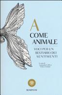 Copertina  A come animale