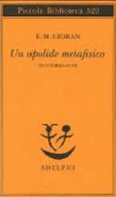 Copertina  Un apolide metafisico