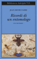 Copertina  Ricordi di un entomologo