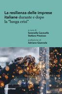 Copertina  La resilienza delle imprese italiane durante e dopo la \\lunga crisi\\ : un'analisi territoriale