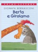 Copertina  Berta e Girolamo