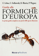 Copertina  Guida alle formiche d'Europa