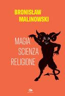 Copertina  Magia, scienza, religione
