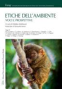 Copertina  Etiche dell'ambiente : voci e prospettive
