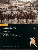 Copertina  Dizionario storico della Svizzera. 3: Cama-Delz