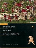 Copertina  Dizionario storico della Svizzera. 4: De Man-Flury