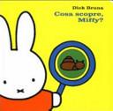 Copertina  Cosa scopre, Miffy?