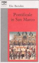Copertina  Pontificale in San Marco : romanzo